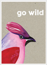 Go Wild Greeting Card - Cinnamon Aitch