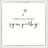 Sympathy Greeting Card by Alice Scott - Pigment Productions