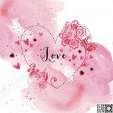 Love Valentines Greeting Card - Blue Eyed Sun