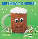 Birthday Cheers Birthday Greeting Card - Mint Publishing