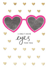 Eyes For You Greeting Card - Rachel Ellen