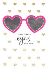 Eyes For You Greeting Card - Rachel Ellen