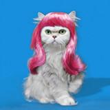 Pretty Kitty Icon Art Greeting Card - Icon Art