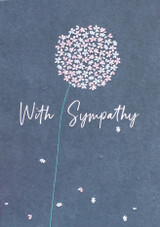 Sympathy Dandelion Greeting Card | Belly Button Design