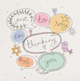 Thinking of You Greeting Card | Belly Button Designs