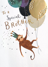 Special Brother Greeting Card - Louise Tiler
