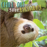 Chill Out Funny Greeting Card - Abacus