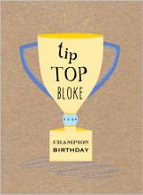 Tip Top Bloke Greeting card by the Cookie Jar - Abacus Cards
