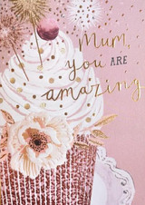 Mum you are Amazing Greeting Card - Louise Tiler