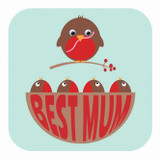 Best Mum Wobbly Eyes Mothers Day Card - Stripey Cats