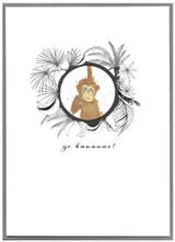 Go Bananas Greeting Card - Cinnamon Aitch