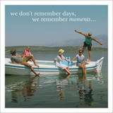 We Remember Moments Greeting Card - Icon Art Company