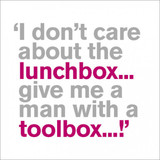 Toolbox Funny  Greeting Card | Icon Art