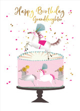 Beautiful Granddaughter Birthday Card - Real & Exciting Designs