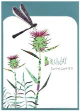 Happy Birthday Dragonfly | Greeting Card