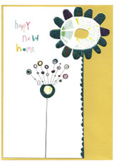 Happy New Home Flower | Greeting Card