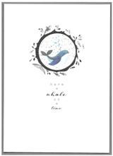 A Whale of a Time  Greeting Card | Cinnammon Aitch