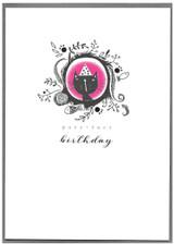 Have a Purrrfect Birthday Greeting Card   Cinnammon Aitch