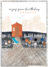 Happy Birthday Grandad Birthday Card - Cinnamon Aitch