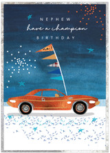 Champion Birthday Nephew Birthday Card - Cinnamon Aitch