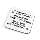 Do What you Want | Coaster | Redback Cards