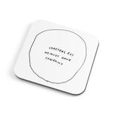Rubbish | Coaster | Redback Cards