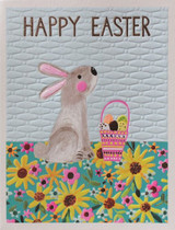 Easter Bunny Greeting Card | Paper Salad