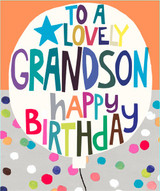 Lovely Grandson Greeting Card | Paper Salad
