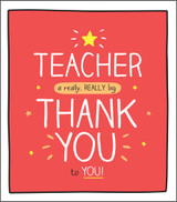 Cool Thank you Teacher greeting card Happy Jackson - Pigment Productions