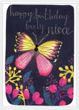 Cute Birthday Niece Butterfly  - Cinnamon Aitch