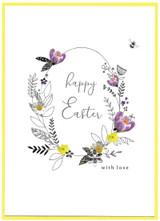 Cute Easter Greeting Card - Cinnamon Aitch