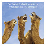 When I Get Older Funny Birthday Card - Icon Art Company