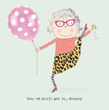 Granny Still Got it Funny Greeting Card - Rosie Made a Thing
