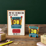 30th Birthday Card - Pop Out Card Co