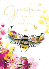 Grandma  Birthday Card - Abacus Cards