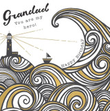 Grandad Hero Greeting Card  - Rachel Ellen