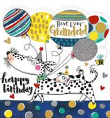 Best Ever Grandad Greeting Card - Rachel Ellen