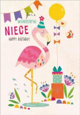 Wonderful Niece Greeting Card  - Abacus Cards
