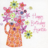 Gorgeous Auntie Birthday Card - Blue Eyed Sun