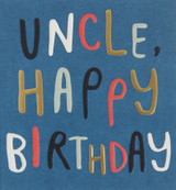 Brilliant Uncle Greeting Card - Caroline Gardner