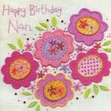 Happy Birthday Nan | Greeting Card | Blue Eyed Sun