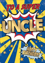 Super Uncle Birthday Card - Mint Publishing