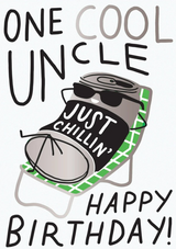 One Cool Uncle | Greeting Card | Hello Lucky