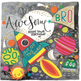 Awesome Brother Greeting Card - Rachel Ellen