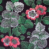 V&A Poppies Furnishing Fabric | Museum & Galleries