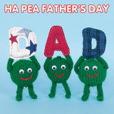 Ha Pea Fathers Day Funny Greeting Card - Mint Publishing