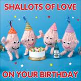 Shallots of Love Birthday Greeting Card - Mint Publishing