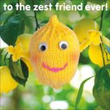 Zest Friend Birthday Greeting Card - Mint Publishing