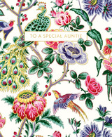 V&A Chinoiserie Fabric Greeting Card | Museum & Galleries