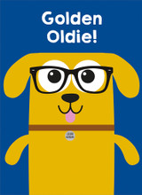 Golden Oldie Greeting Card - Mint Publishing
